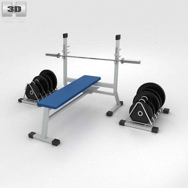 3d model set materials