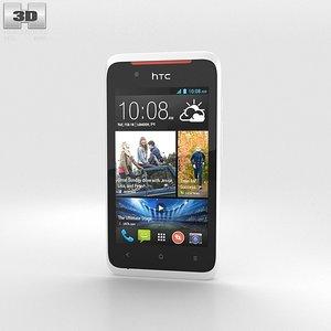 htc desire 210 3d model
