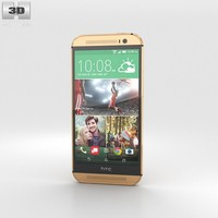 HTC One (M8) Amber Gold