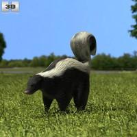 3ds skunk