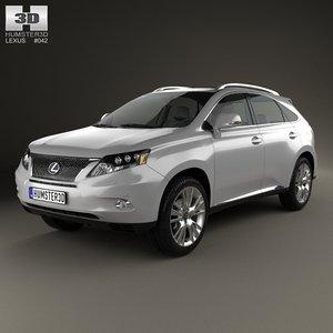 lexus rx hybrid 3ds