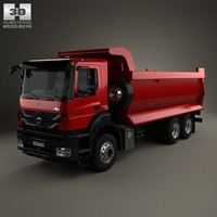 3d mercedes-benz axor tipper model