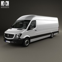 mercedes-benz sprinter panel 3d obj