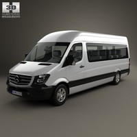 3d 3ds mercedes-benz sprinter passenger