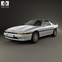 3d toyota supra 1986 model