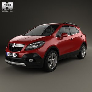 3d vauxhall mokka 2013 model