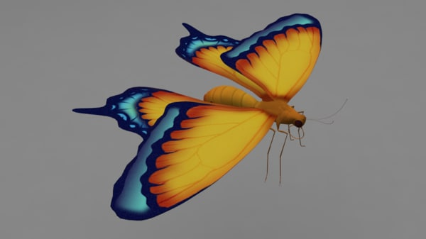 rigged butterfly max