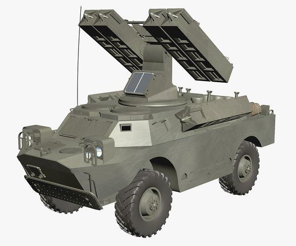 gaskin 9k31 strela rocket max