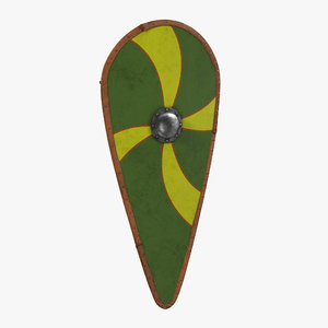 norman kite shield 3d model