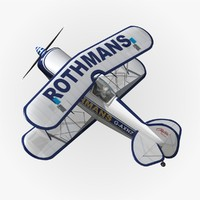 pitts s1 rothmans 3d max