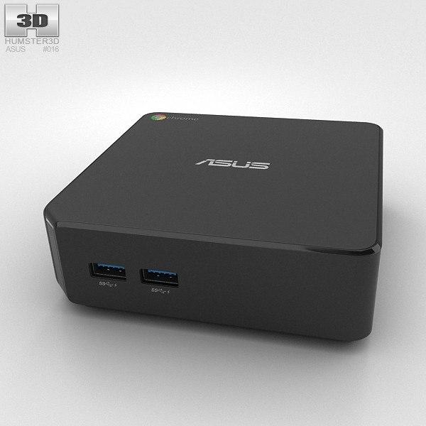asus chromebox chrome 3d model