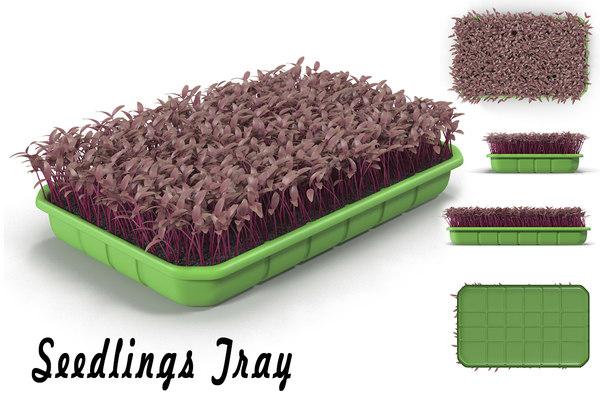 3d seedling tray