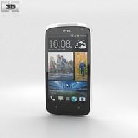 htc desire 500 3d model