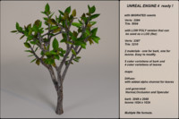 fantasy tree 10 3d model