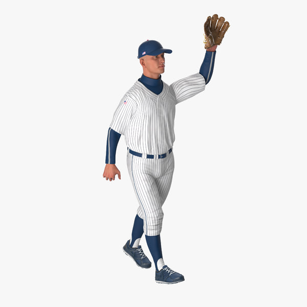 baseball player rigged generic max