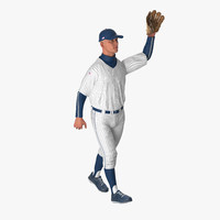 Baseball Player Rigged Generic 6