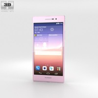 3d huawei ascend p7 model