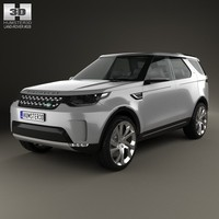 3d max land rover discovery
