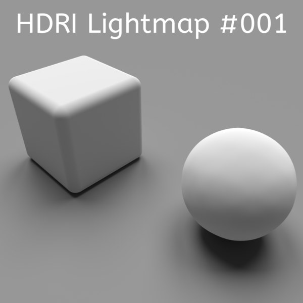 HDRI Studio Gray Lightmap
