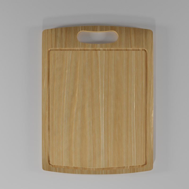 Cutting Board 3d Model
