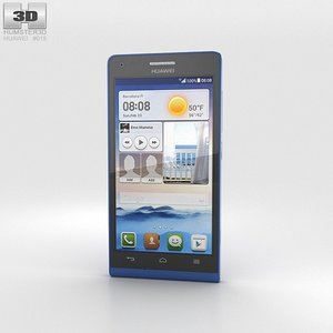 3d model of huawei ascend g6