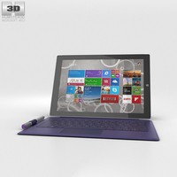 microsoft surface 3 3d model