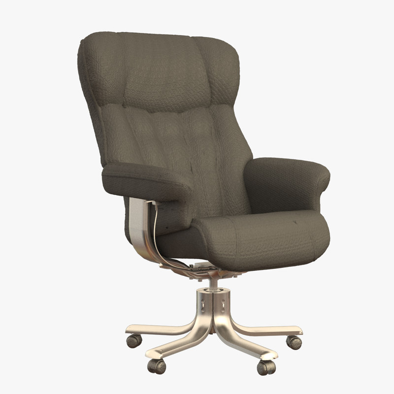 leather office chair 3d max
