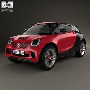 smart forstars 2012 3d max
