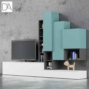 tv stand dallagnese max
