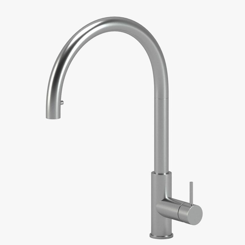 3d model cea design kitchen tap