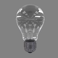 light bulb 3d c4d