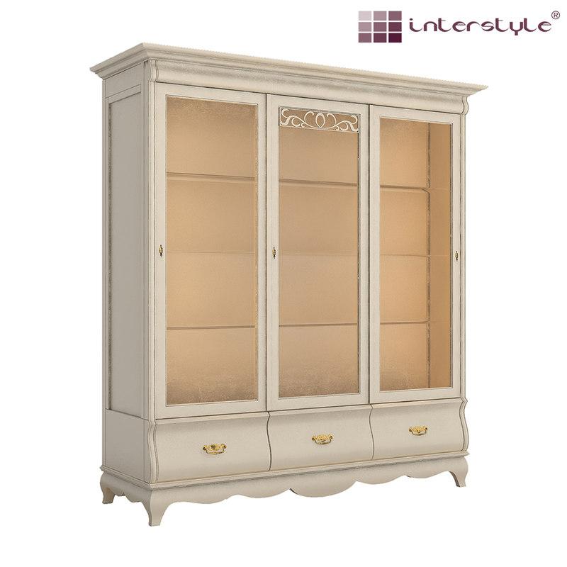 3d model cupboard classical lighting