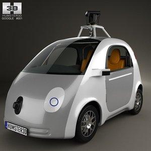 3d google self driving