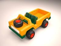car vehicle truck safari 3ds