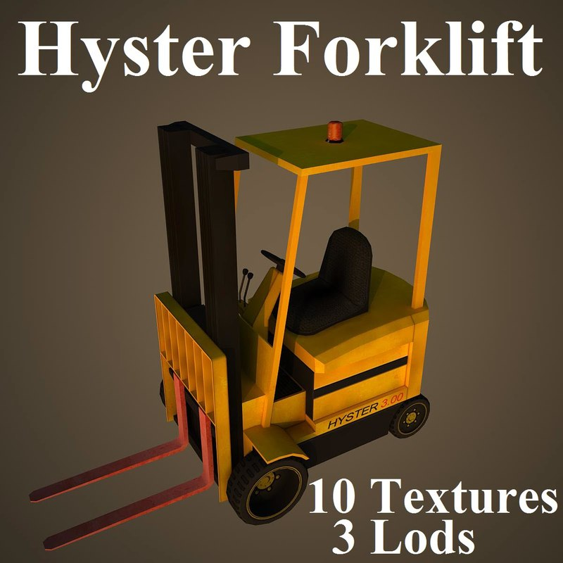 hyster fork max