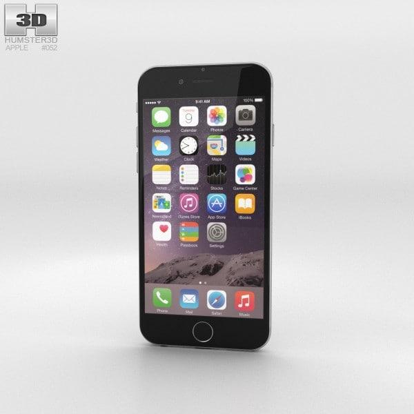 iphone apple 6 3d 3ds