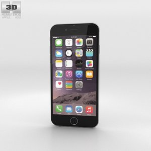 iphone apple 6 3d 3ds