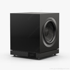 subwoofer bowers wilkins db2d 3d model