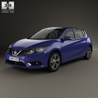 Nissan Pulsar hatchback 2014