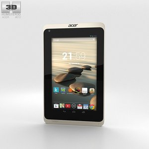 3d model of acer iconia b1-720