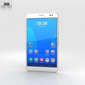 huawei mediapad x1 3d model