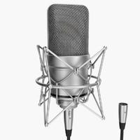 max rigged microphone xlr