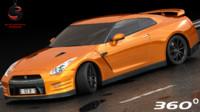 Nissan GT-R NISMO 2017 (Low Interior)