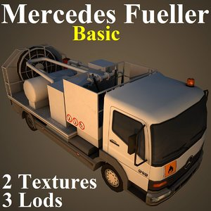 mercedes basic 3d model