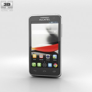 alcatel evolve touch 3d model