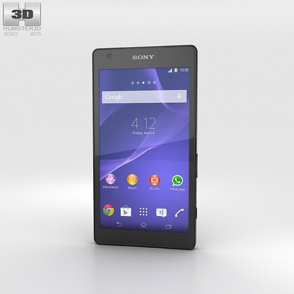 sony xperia z2a 3d max