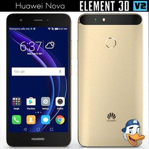 3d model huawei nova