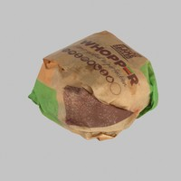 Wrapped Whopper