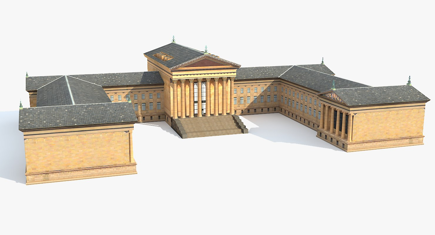 philadelphia museum art 3ds