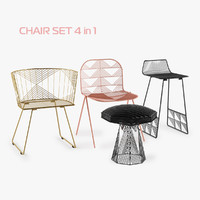 set chair 3d max